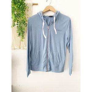 LULAROE Logo Terry Cloth Lining Zip Hoodie Jacket